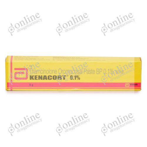 Kenacort Cream 0.1% (5 gm) Tube-Front-view