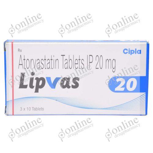 Lipvas 20 mg-Front-view