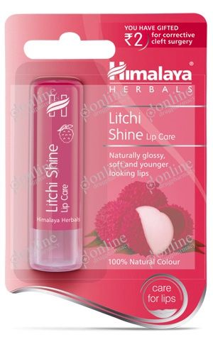 Litchi Shine Lip Care 4.5gm-front-view