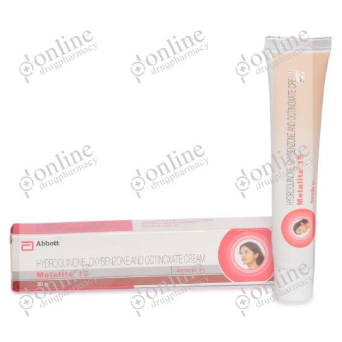 Melalite 4% - 30 gm Cream-side-view