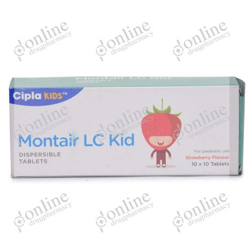 Montair LC Kid (4 +2.5 mg)-Front-view