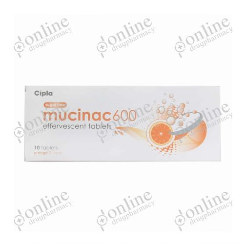 Mucinac - 600mg-Front-view