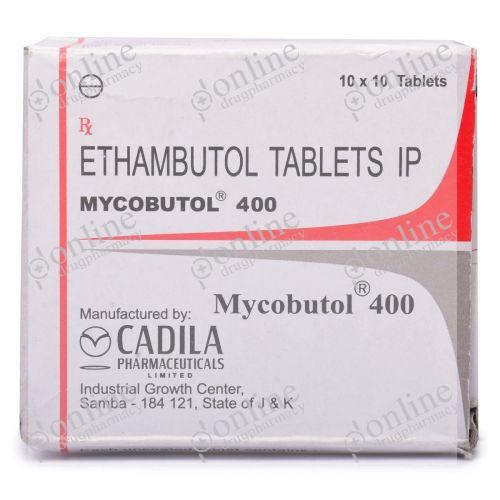 Mycobutol 400 mg-Front-view