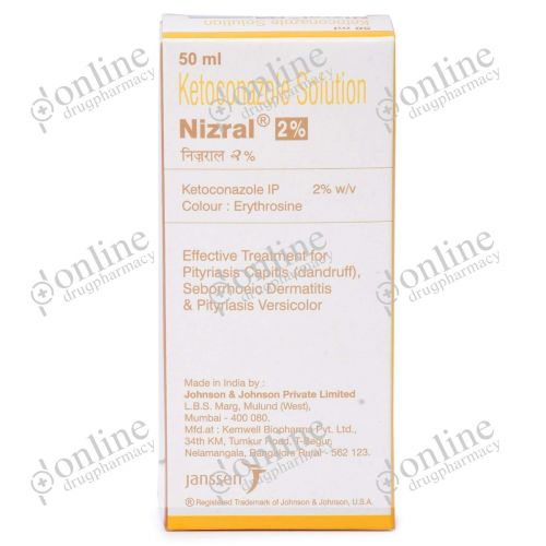 Nizral Solution 2% (50 ml)-Front-view