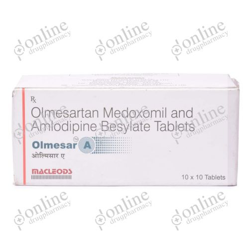 Olmesar A 5 + 20 mg-Front-view
