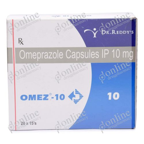 Omez 10 mg-Front-view