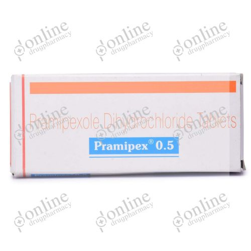 Pramipex 0.5 mg-Front-view