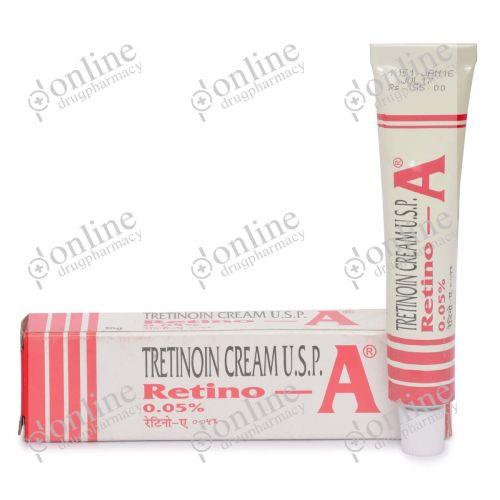 Retino A Cream 0.05% (20 gm)-Front-view