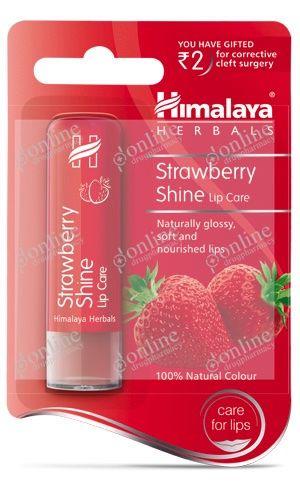 Strawberry Shine Lip Care 4.5gm-front-view