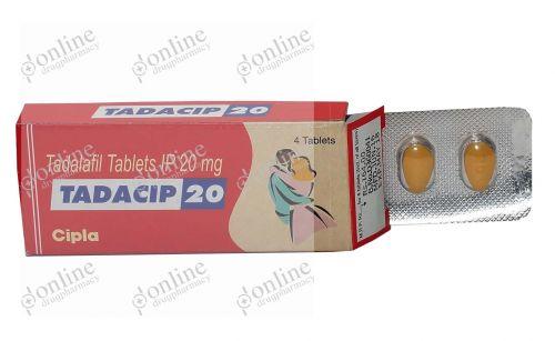 Tadacip 20 mg-Front-view