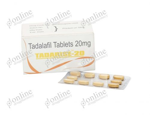 Tadarise 20 mg-Front-view