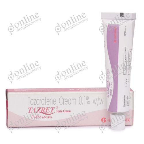 Tazret Forte Cream 0.1% 15 gm-Front-view