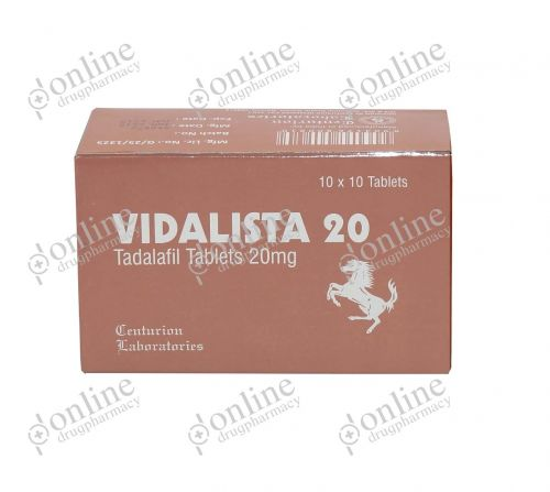 Vidalista 20 mg-Front-view
