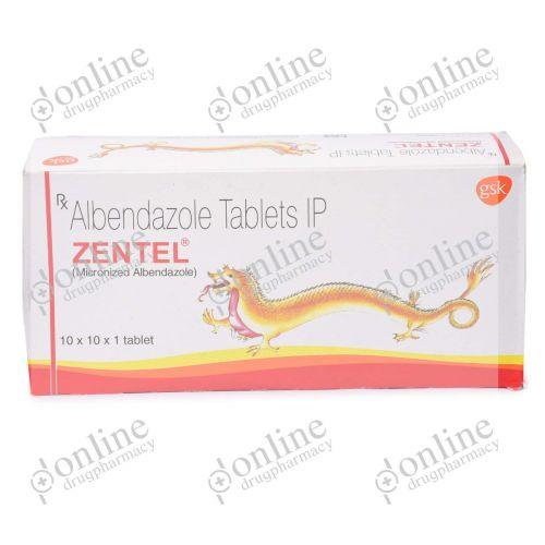 Zentel 400 mg-Front-view