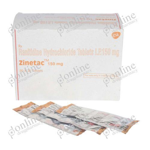 Zinetac 150 mg-Front-view