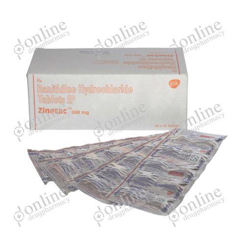 Zinetac 300 mg-Front-view