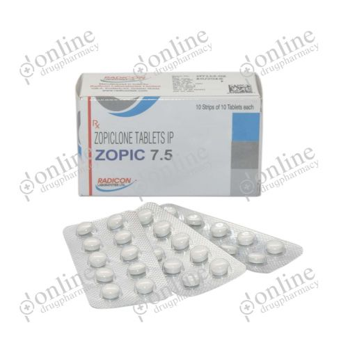 Zopic 7.5 mg-Front-view