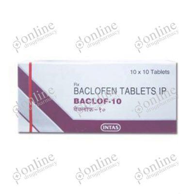 Baclof 10 mg Tablet