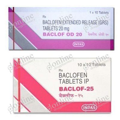 Baclof OD 20 mg Tablet ER