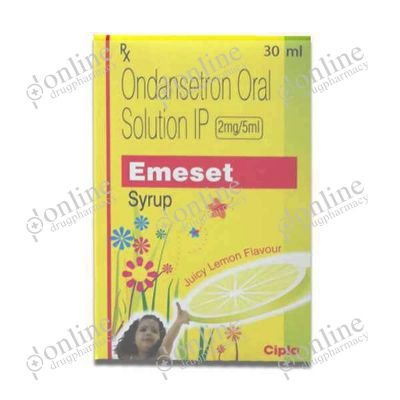 Emeset 2 mg/5 ml Syrup Juicy Lemon