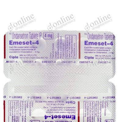 Emeset Odt 4 mg Tablet