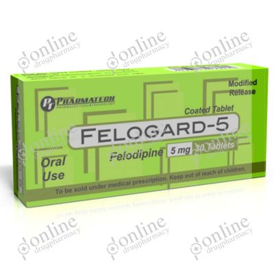 Felogard 5 mg Tablet ER