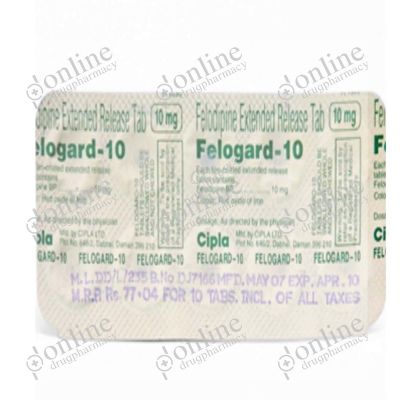 Felogard 10 mg Tablet ER