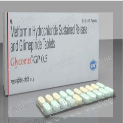 Glycomet-GP 0.5 Tablet