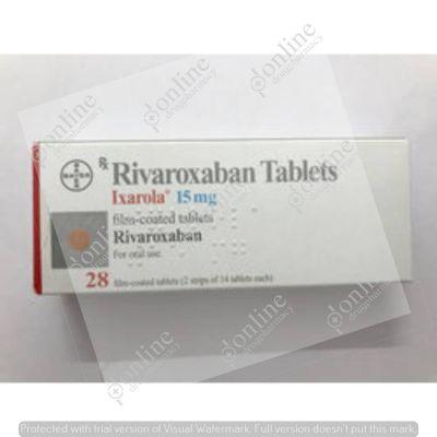 Ixarola 15 mg Tablet