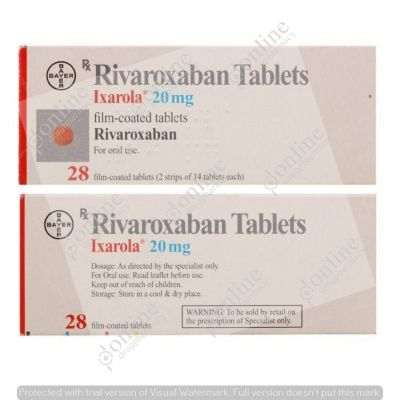 Ixarola 20 mg Tablet FC