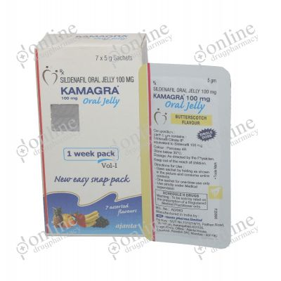 Kamagra Oral Jelly Rx - 100mg
