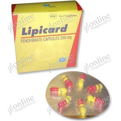 Lipicard 200 mg Capsule