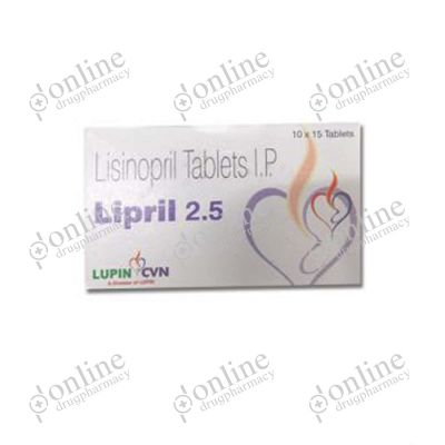 Lipril 2.5 mg Tablet