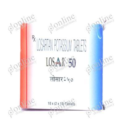 Losar 50 mg Tablet