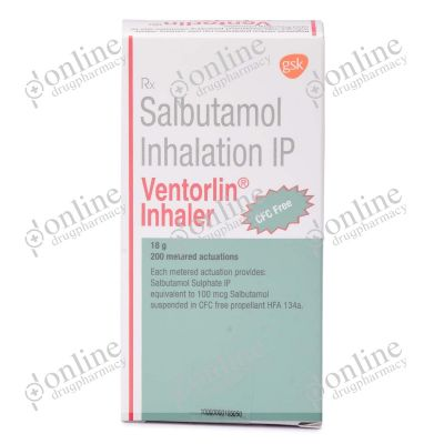 Ventorlin Inhaler - 100mcg
