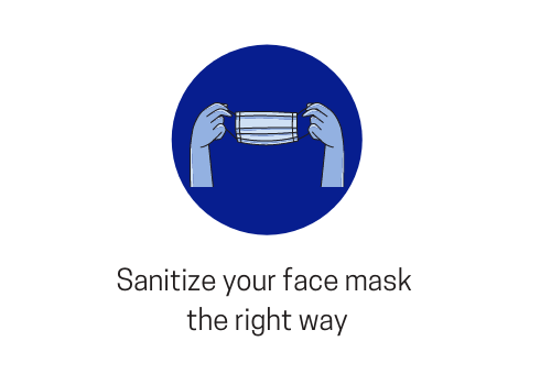 Know-How To Properly Sanitize Your Masks